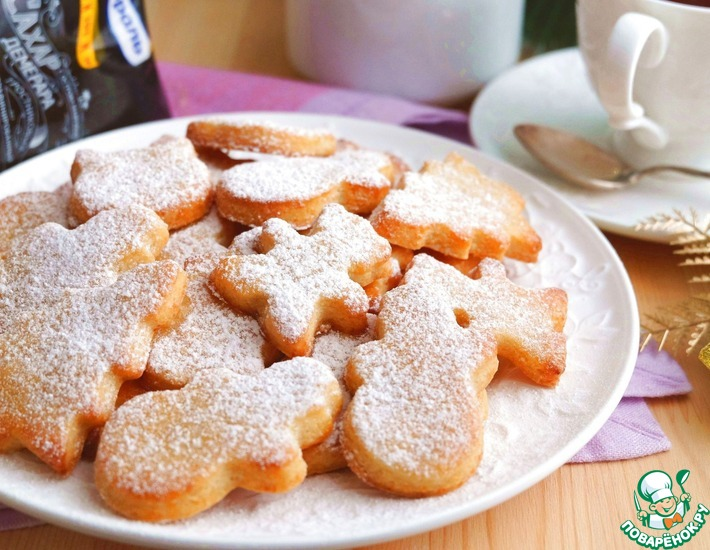 Рецепт: Мягкое творожное печенье