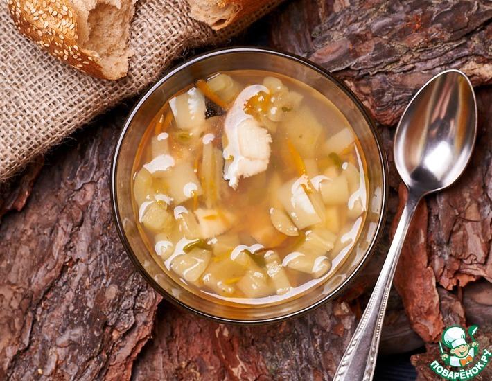 Рецепт: Суп из зубатки