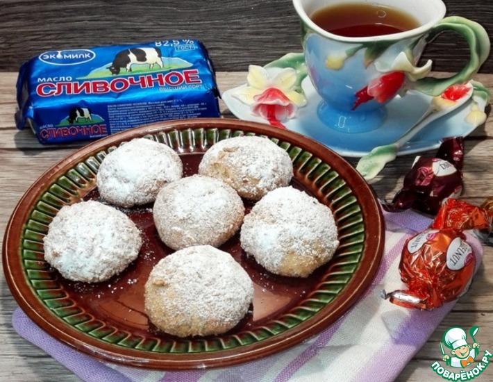Рецепт: Печенье с маком в панировке