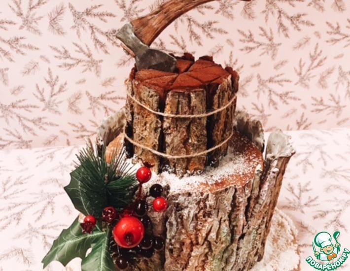 Рецепт: Торт Черный лес