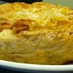 Пирог с квашеной капустой на тесте фило