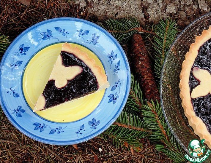 Рецепт: Кростата с джемом Лесные ягоды