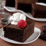Пьяный шоколадный пирог