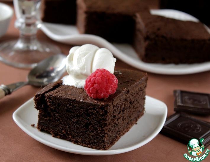 Рецепт: Пьяный шоколадный пирог