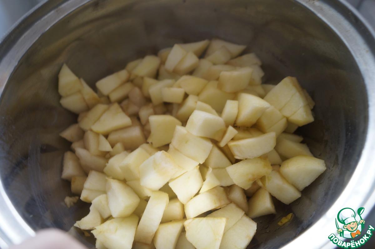Баварский крем с фруктовым пюре