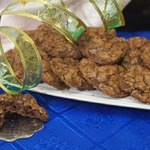 Американское шоколадно-кофейное печенье с орехами