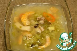 Рецепт: Вьетнамский суп Лау