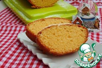 Рецепт: Итальянский кукурузный кекс Амор полента