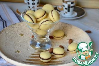 Рецепт: Итальянское печенье Поцелуи дамы