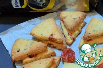 Рецепт: Печенье Пицца