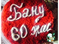 Торт Красный бархат в оригинале ингредиенты