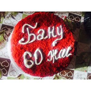 Торт Красный бархат в оригинале