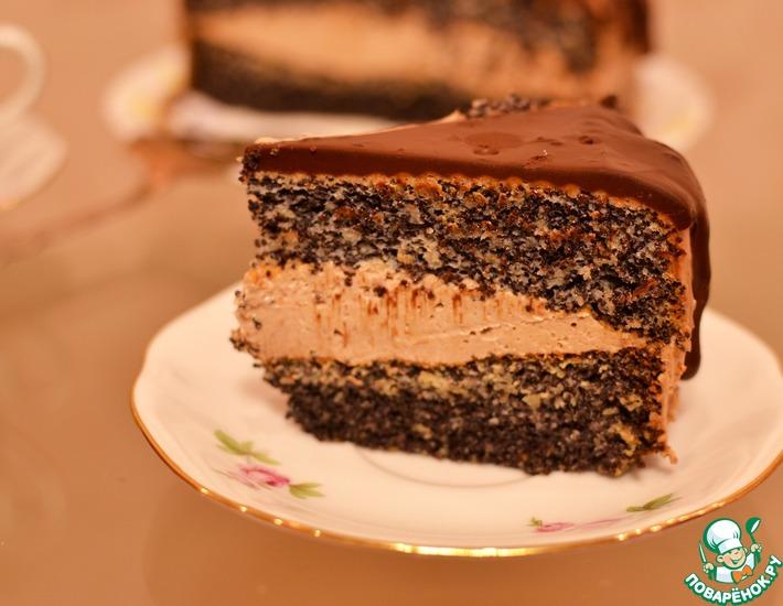 Рецепт: Маковый торт Для доченьки