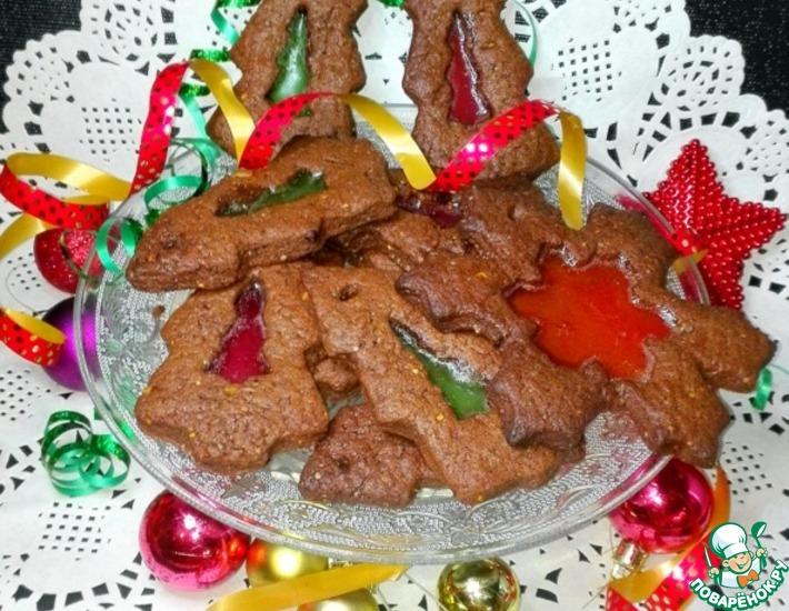 Рецепт: Печенье Скоро Рождество