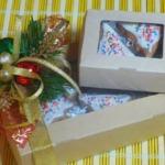 Новогодние пряники Подарочек