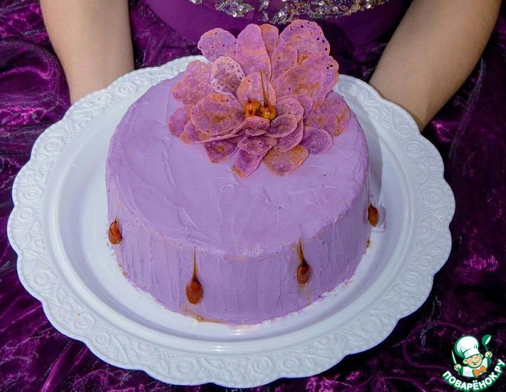 Рецепт: Торт Французский сувенир