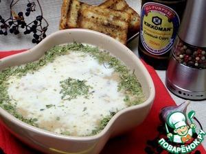 Суп посыпать любой зеленью.