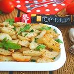 Запечённый картофель в горчичном соусе Ароматный