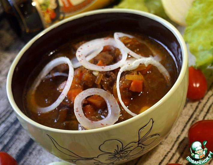 Рецепт: Густой суп Нохутлы аш