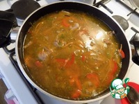 Густой суп со свининой и киноа ингредиенты