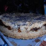 Пирог с маком и творогом
