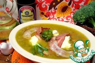 Рецепт: Суп с чечевицей и брокколи