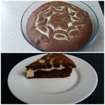Пирожные с творожно-шоколадным кремом в СВЧ – кулинарный рецепт