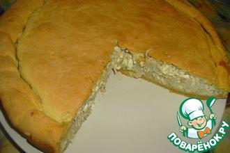 Рецепт: Луковый пирог по рецепту Ольги Матвей
