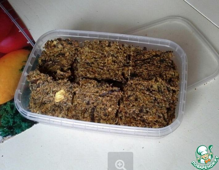 Рецепт: Чипсы из морской капусты