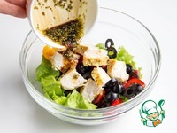 Салат с курицей и овощами ингредиенты