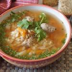 Турецкий суп с бараниной и булгуром