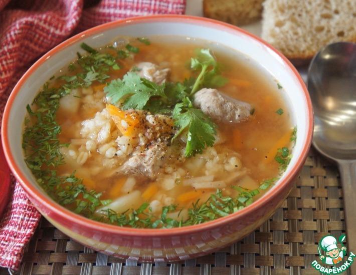 Рецепт: Турецкий суп с бараниной и булгуром