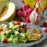 Салат с куриным филе Простой