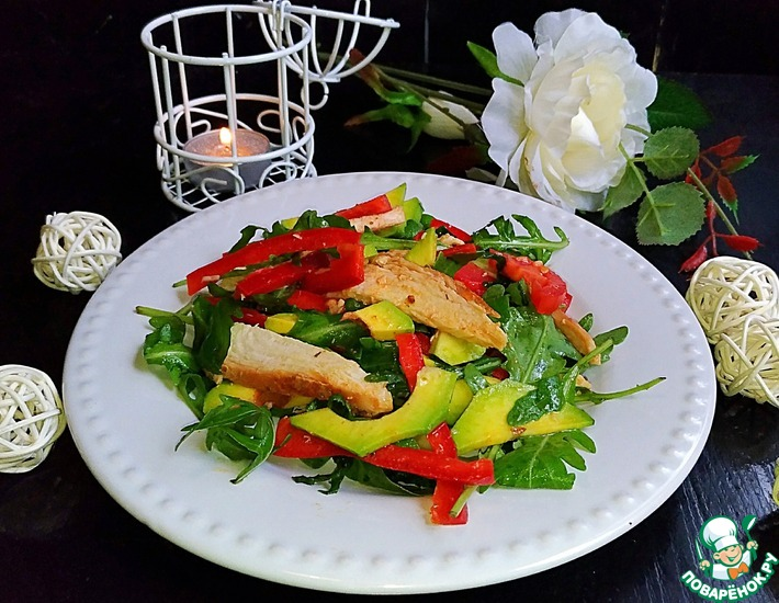Рецепт: Салат Изысканная простота