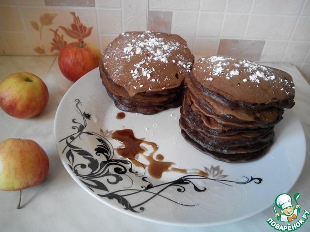 Панкейки с какао рецепт с фото — photo 9