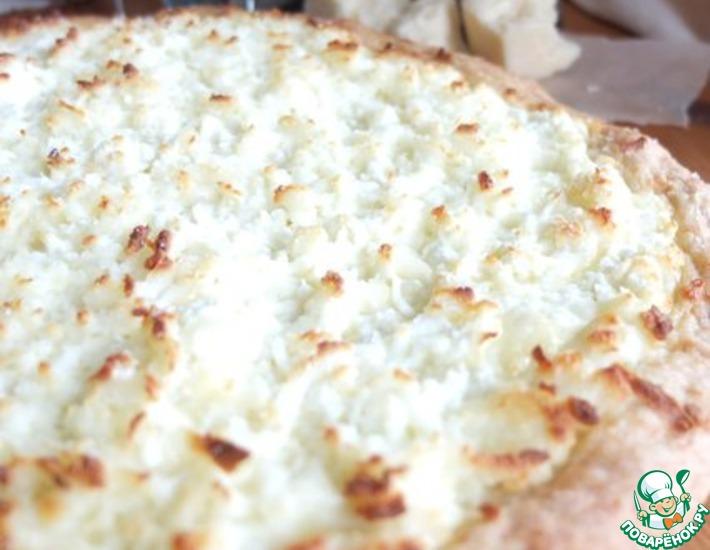Рецепт: Лепешка с адыгейским сыром
