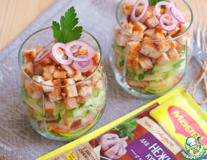 Второе рецепты с фото салаты #1