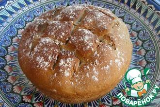 Рецепт: Серый хлеб на долгой опаре