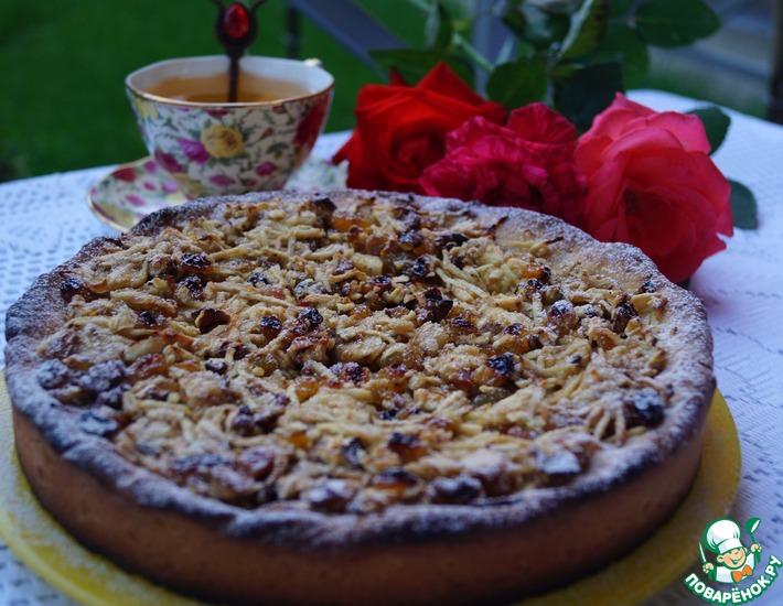 Рецепт: Венгерский ореховый пирог с яблоками