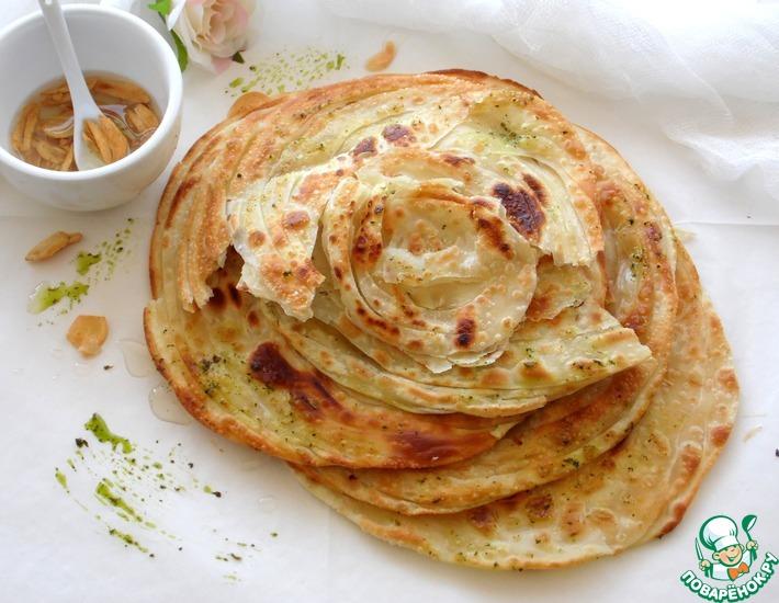 Рецепт: Индийские лепешки Паратха