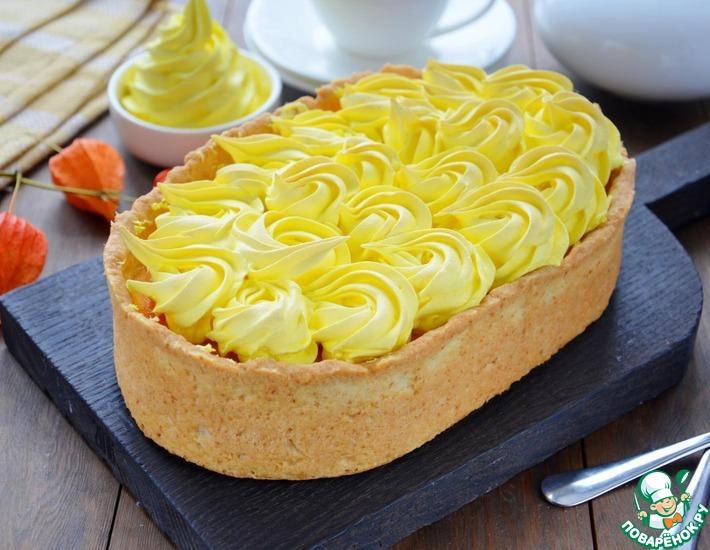 Рецепт: Тыквенный пирог с безе