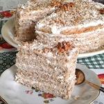 Торт Сладкая тыковка и крепкий орешек