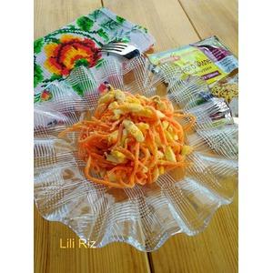 Салат Оранжевый с куриным филе