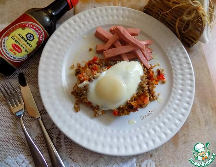 Рецепт: Гречка на завтрак