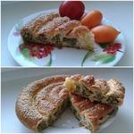 Открытый пирог из судака и шпината – кулинарный рецепт