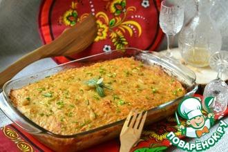 Рецепт: Картофельная запеканка с капустой Брамборак