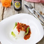 Рыба с овощами в кисло-сладком соусе