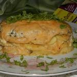Слоёная закуска Пирог-затейник