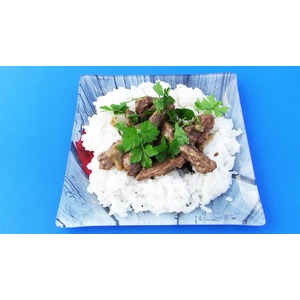 Азу по-татарски в сковороде