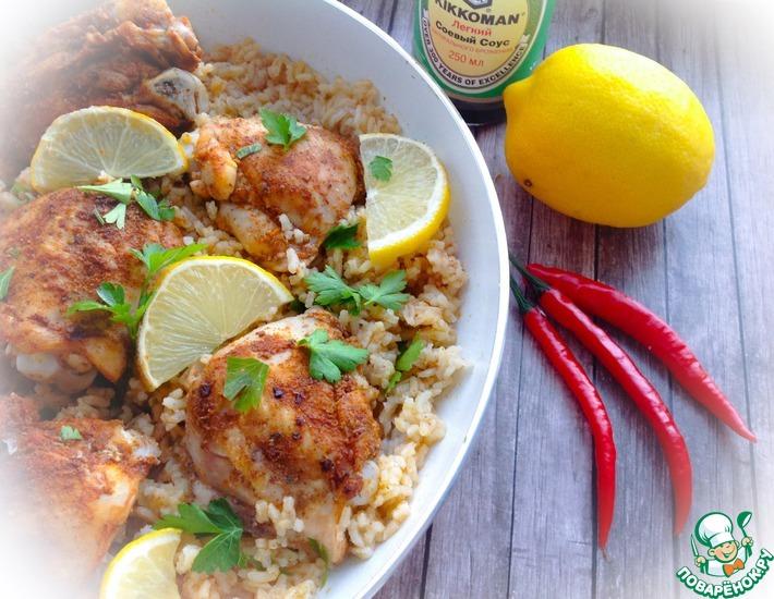 Рецепт: Курица с рисом по-испански